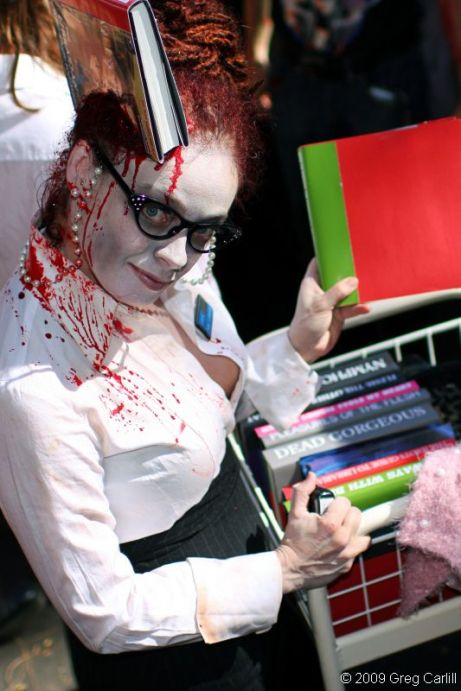 libraire zombie